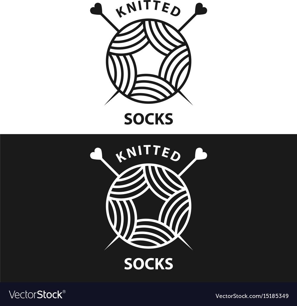 Knitted wear logo