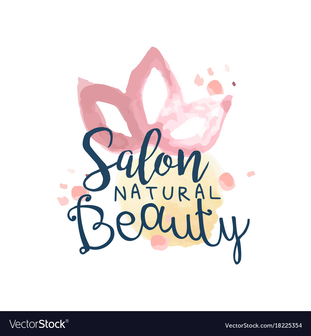 Beauty salon logo label for hair or beauty studio vector image altavistaventures Gallery