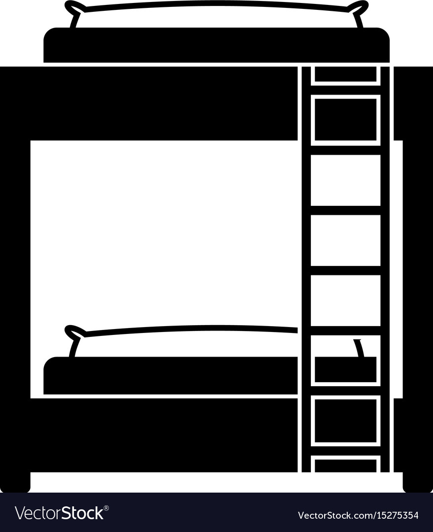 Bed room symbol