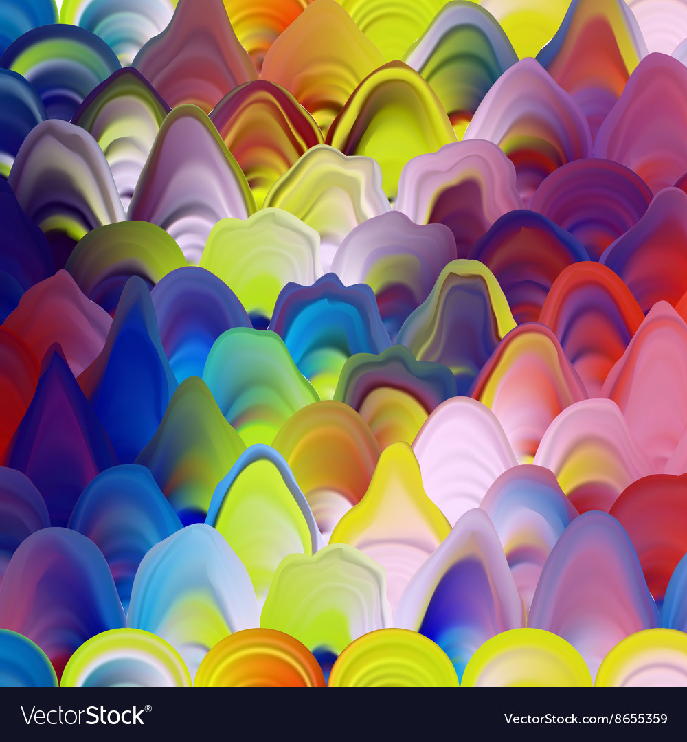 Abstract painting template marble texture pattern vector image