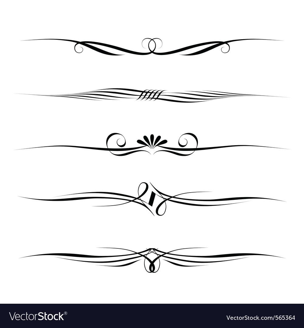decorative filigree elements royalty free vector image rh vectorstock com filigree vector corner filigree factory shop codnor