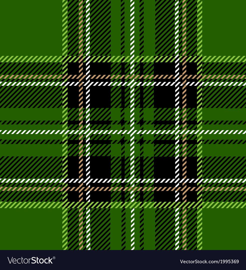 Green Stewart Tartan Design