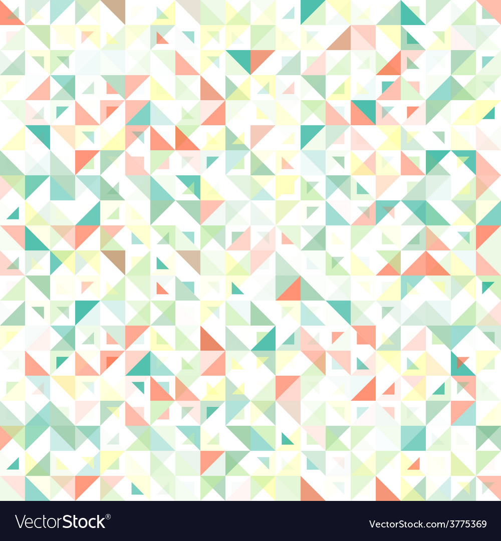 Seamless geometric vintage pattern With