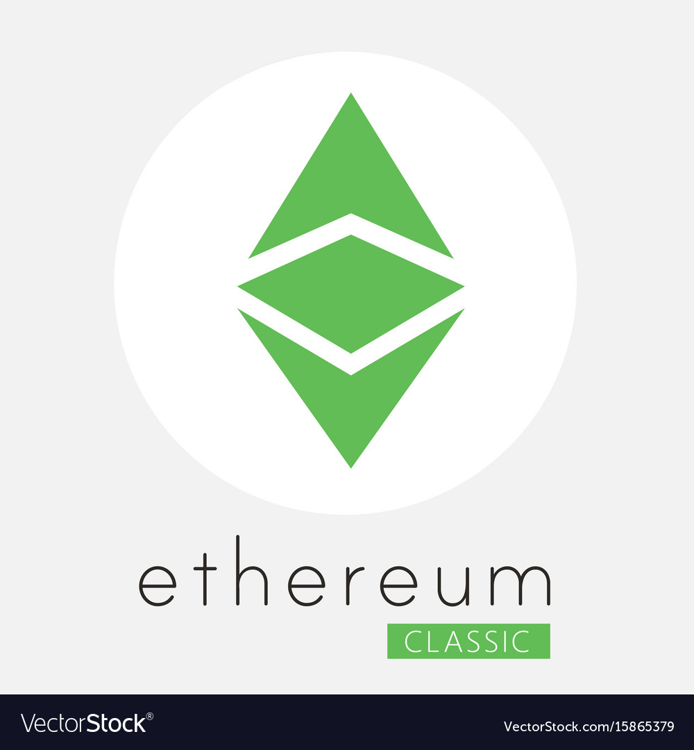 Ethereum classic etc cripto currency logo