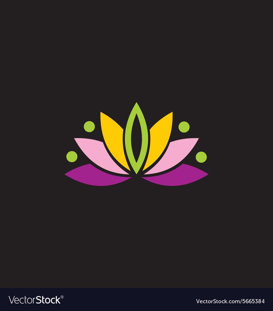 Beauty lotus flower abstract logo royalty free vector image beauty lotus flower abstract logo vector image mightylinksfo