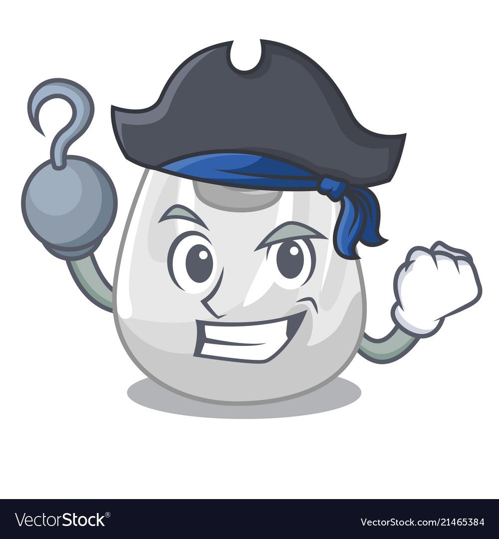 Pirate plastic bag character cartoon