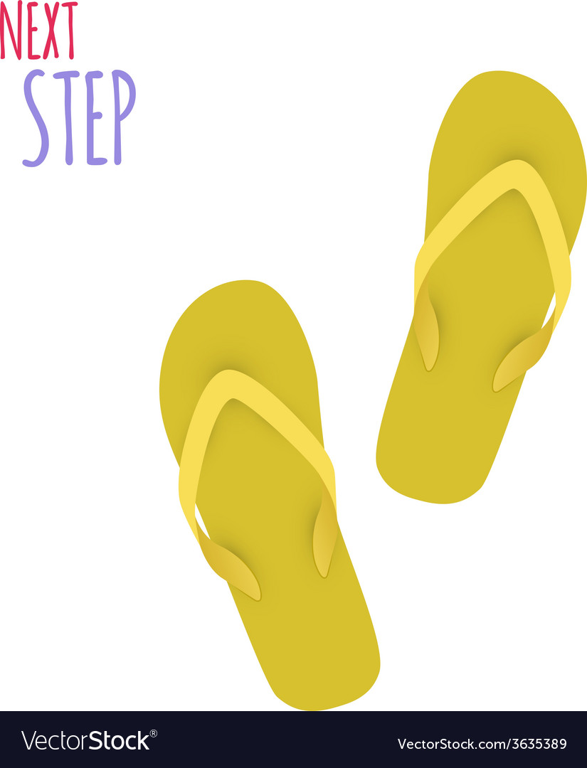 Next Step Slippers Banner
