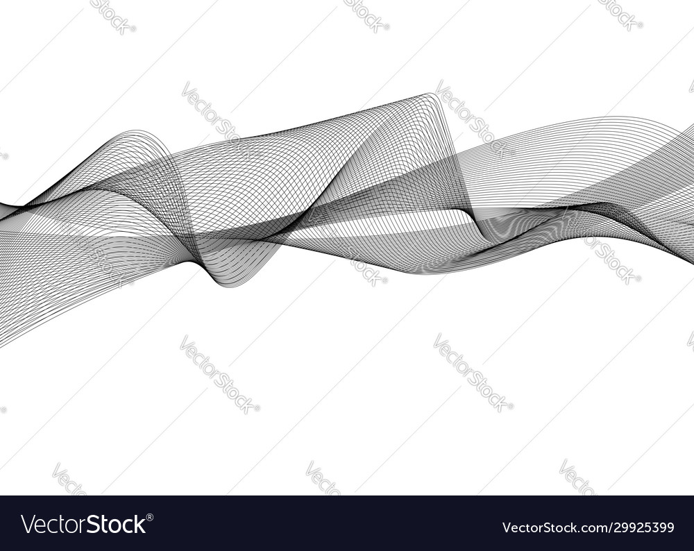 Abstract wave element for design digital frequency