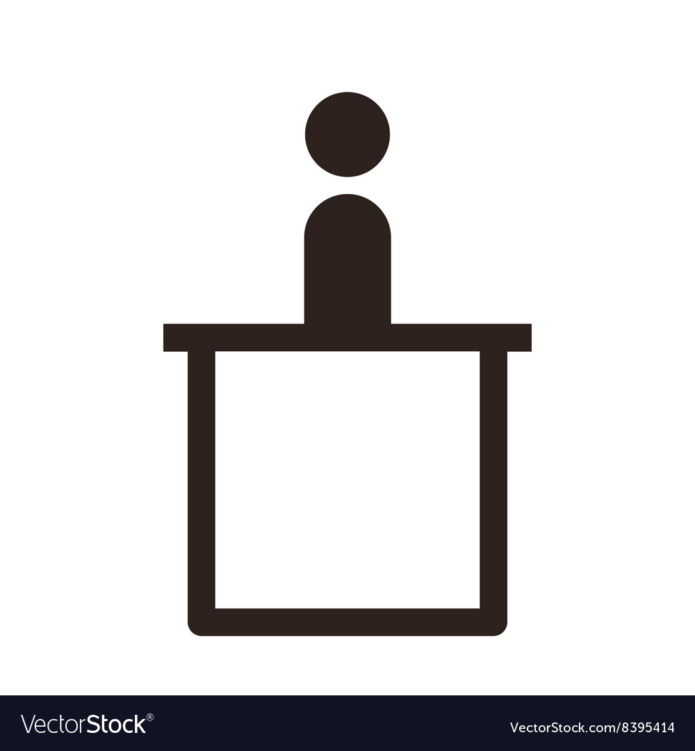 Information sign vector image