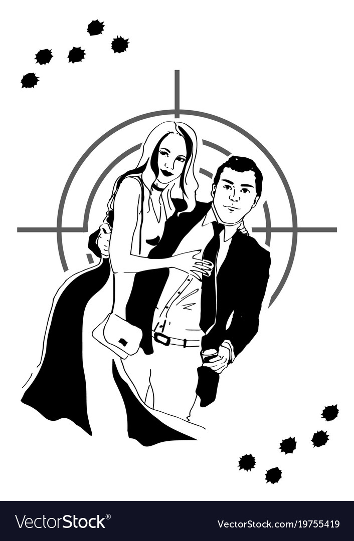 Agent and girl