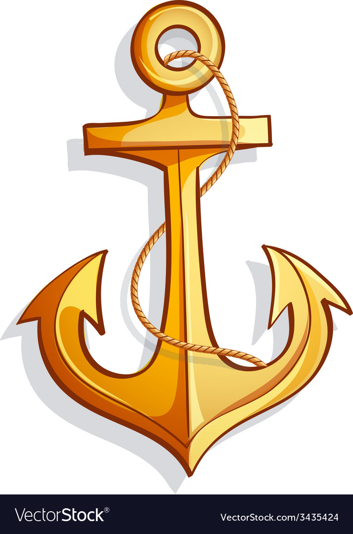 Cartoon anchor