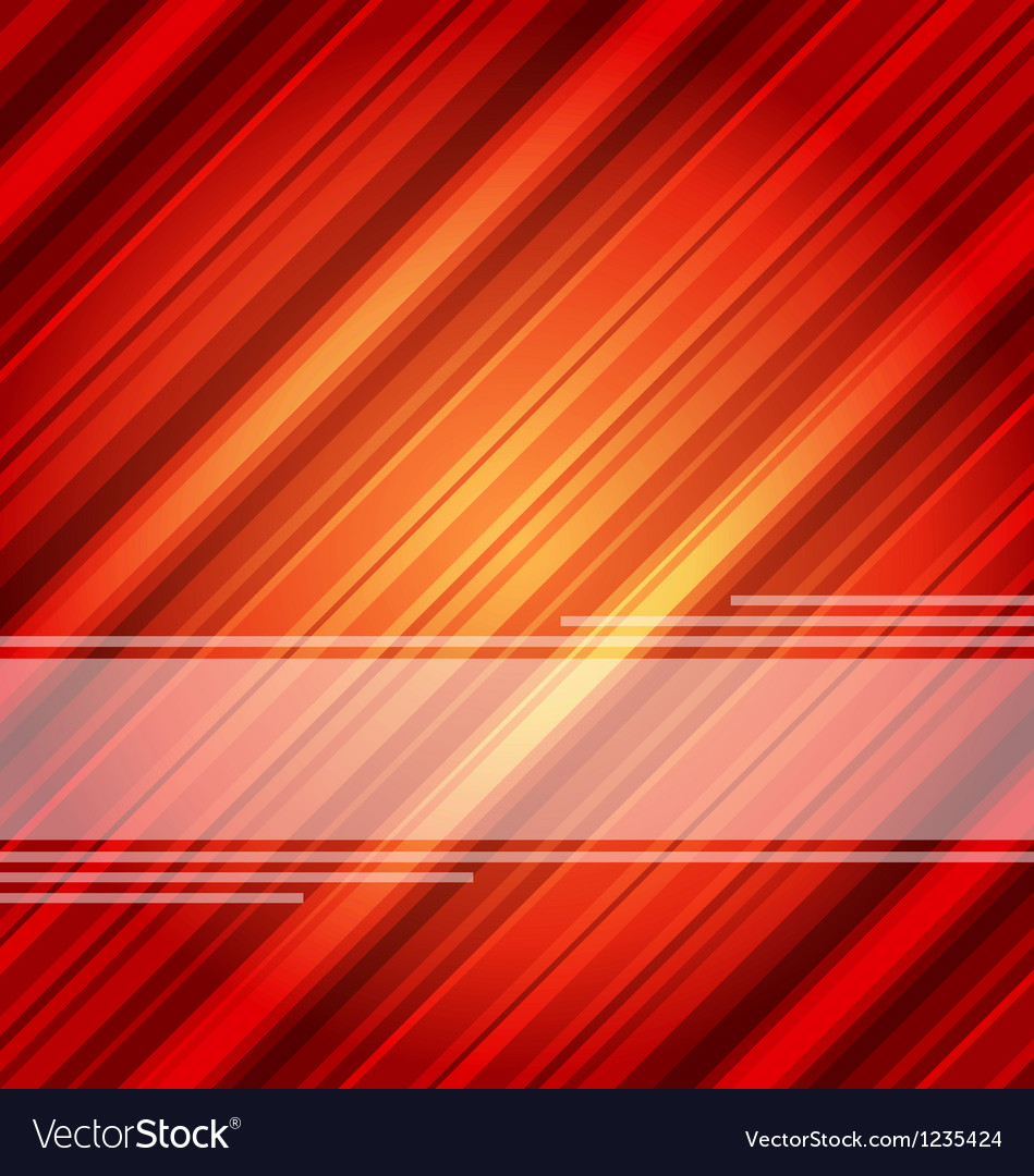 Techno abstract red background striped texture Vector Image