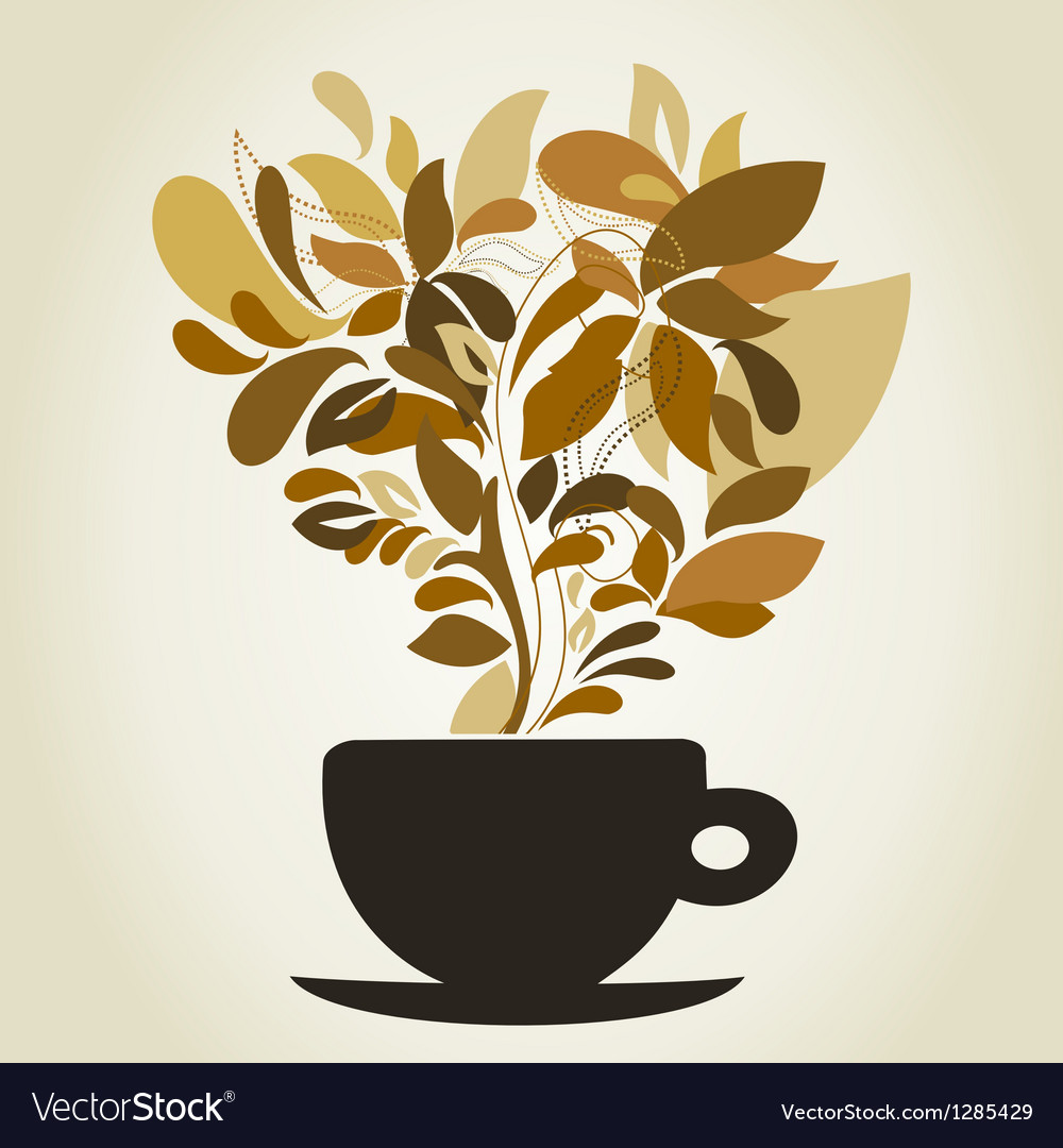 Coffee9 vector image