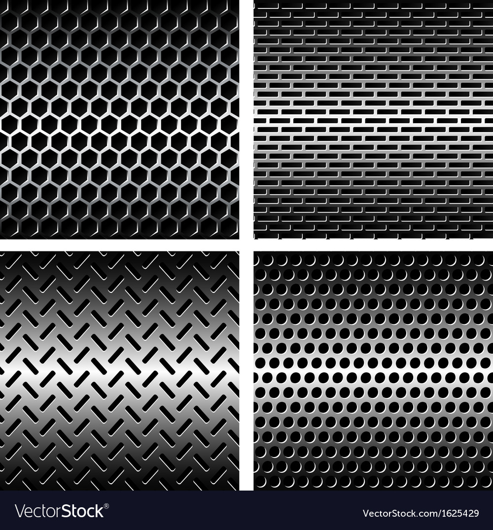 Seamless texture metal grids background
