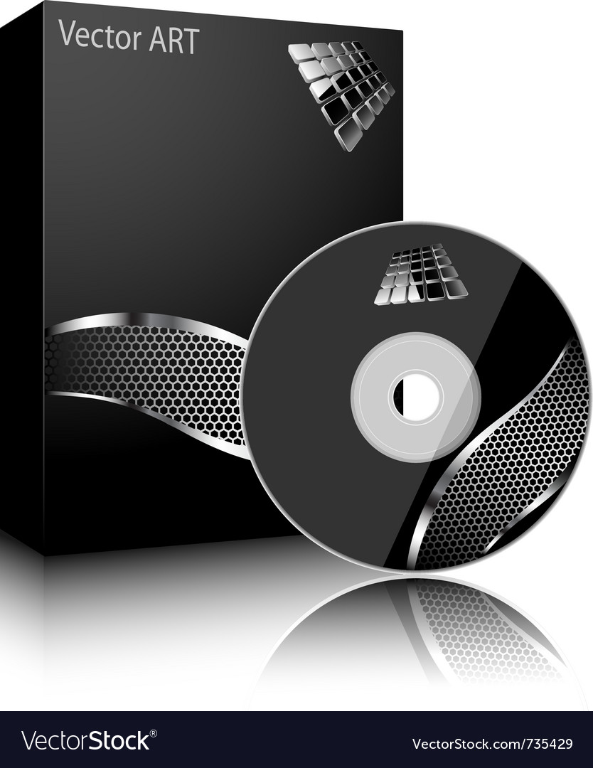 Software black box vector image