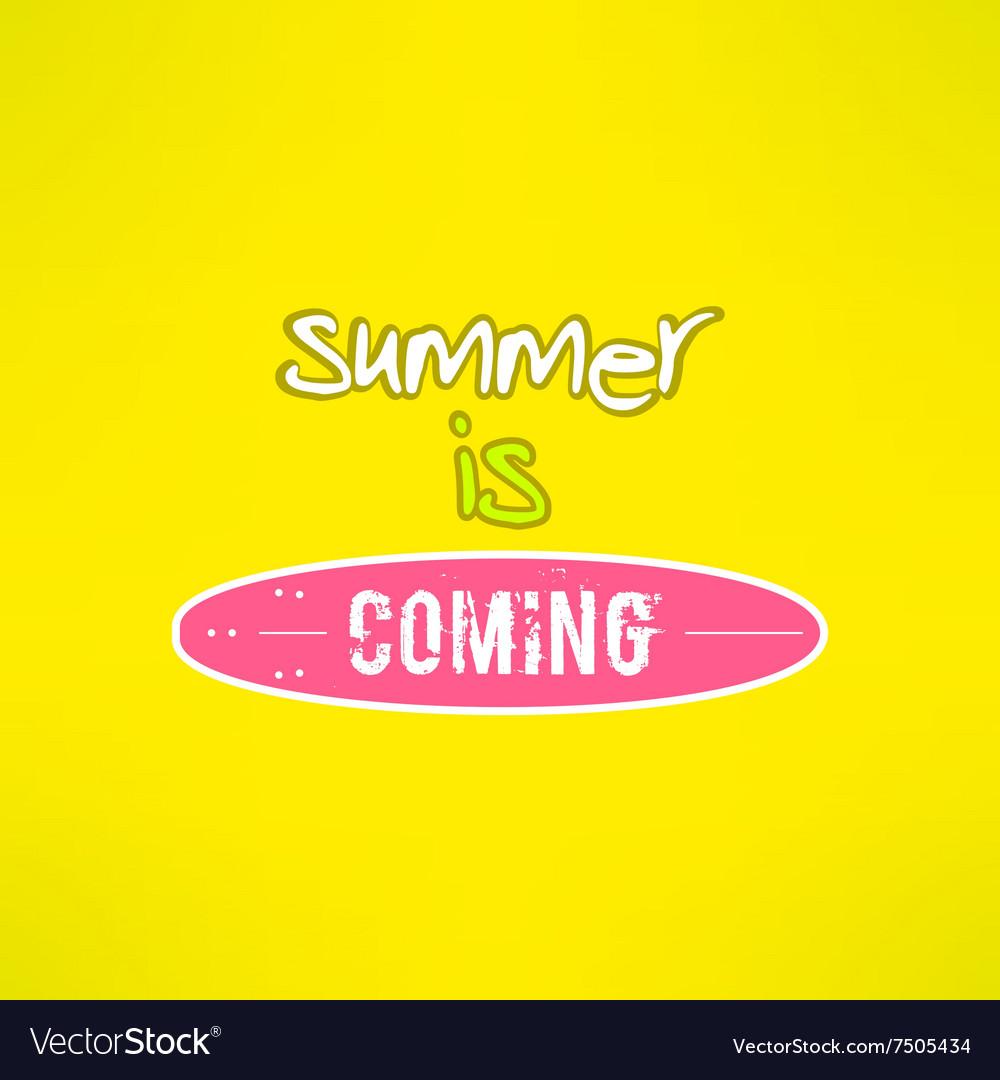Surfing summer lettering inspirational