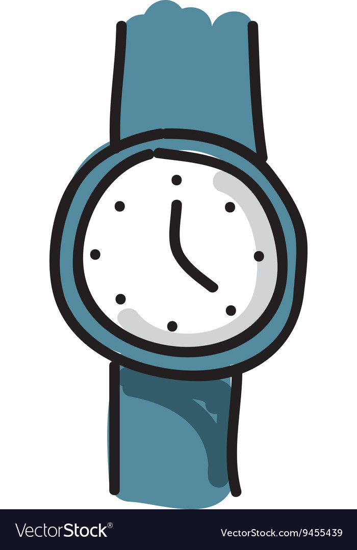 hand watch drawing isolated icon design royalty free vector rh vectorstock com watch victoria season 1 watch victoria season 3