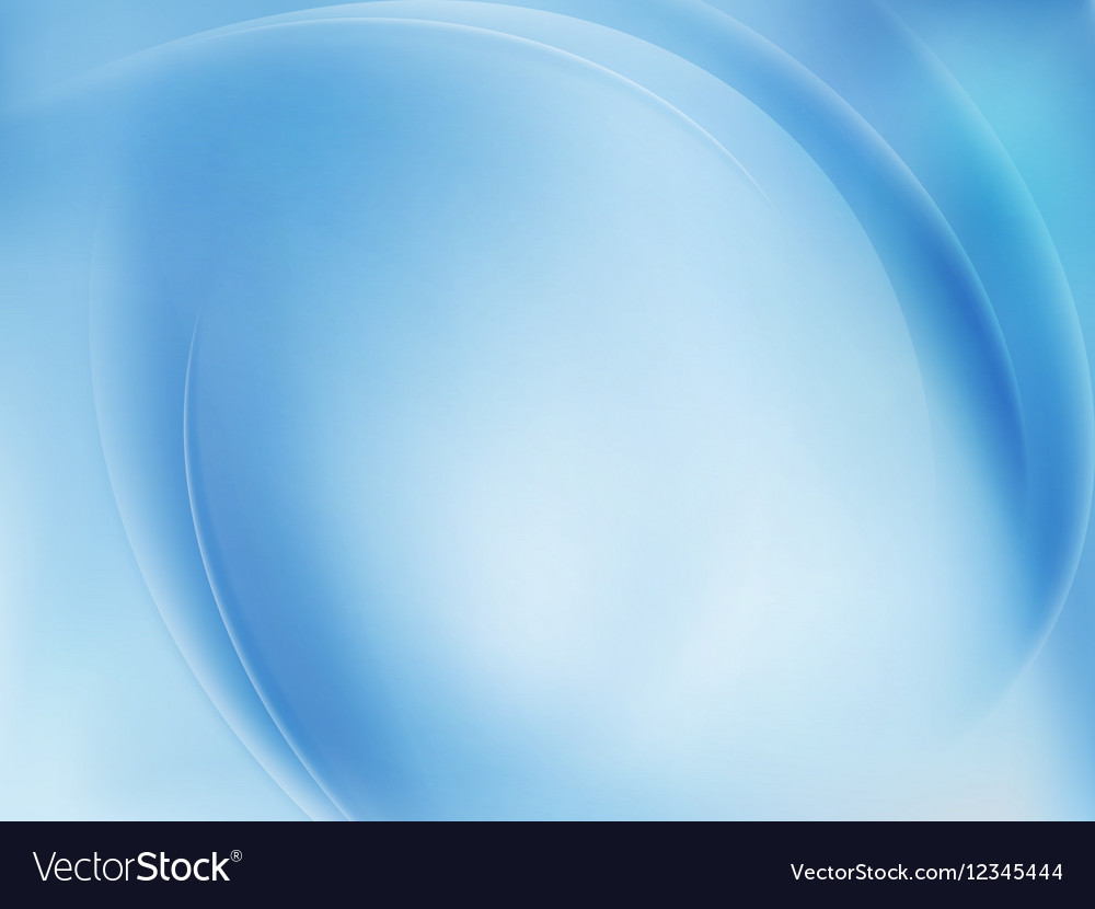Blue Light Wave Abstract Background EPS 10
