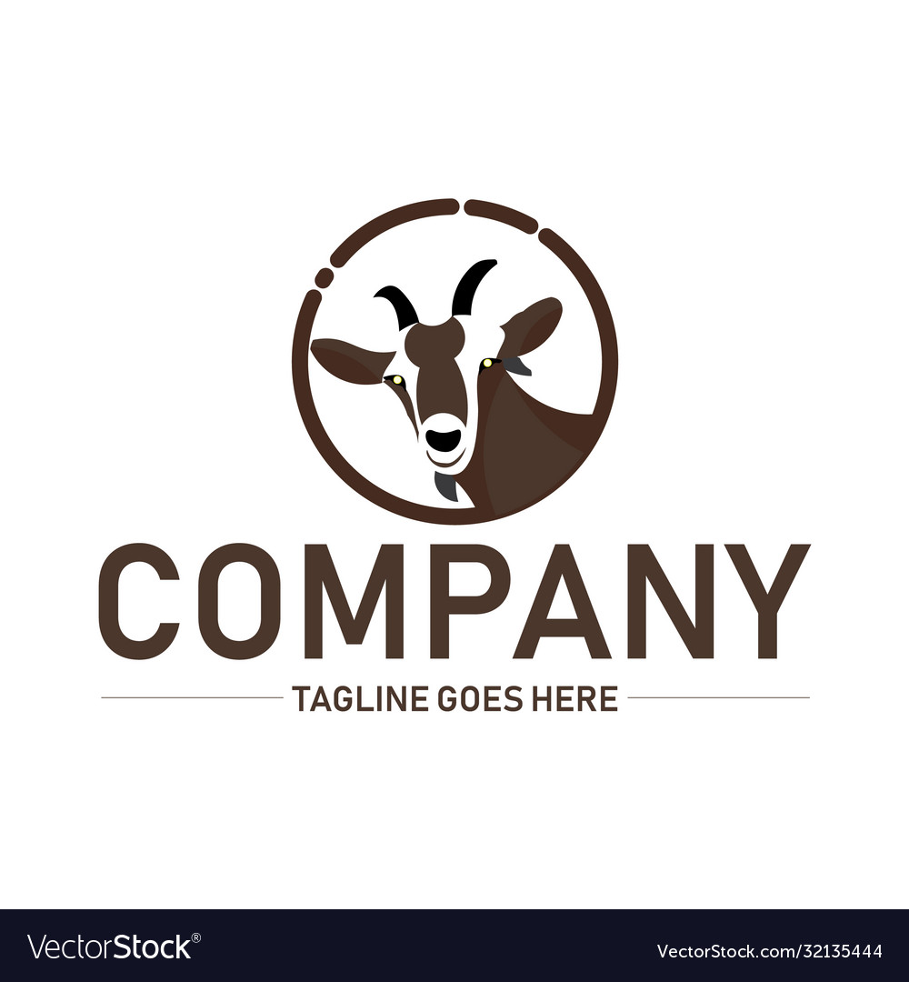 Goat logo inspiration for animal logo design