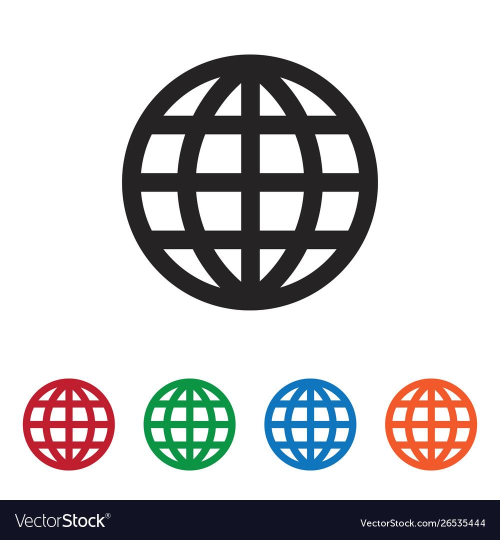 Grid world icon