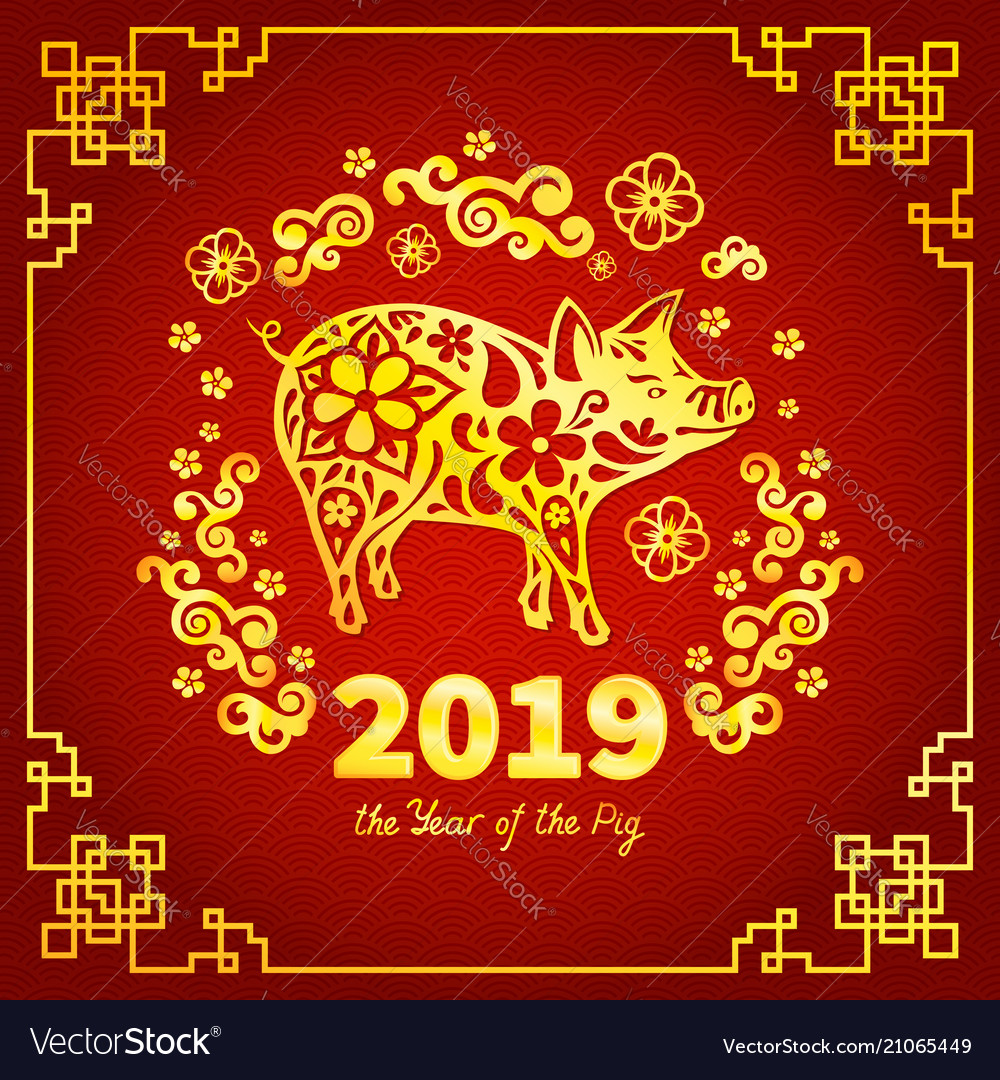 Image result for year of the pig 2019 for pig