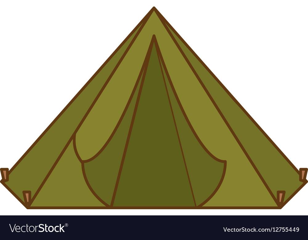 Camp tent icon image