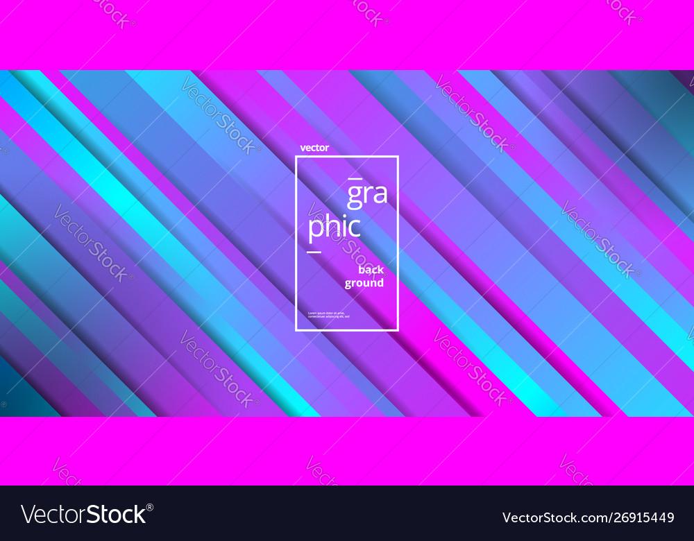 Minimalist trendy geometric blue pink color