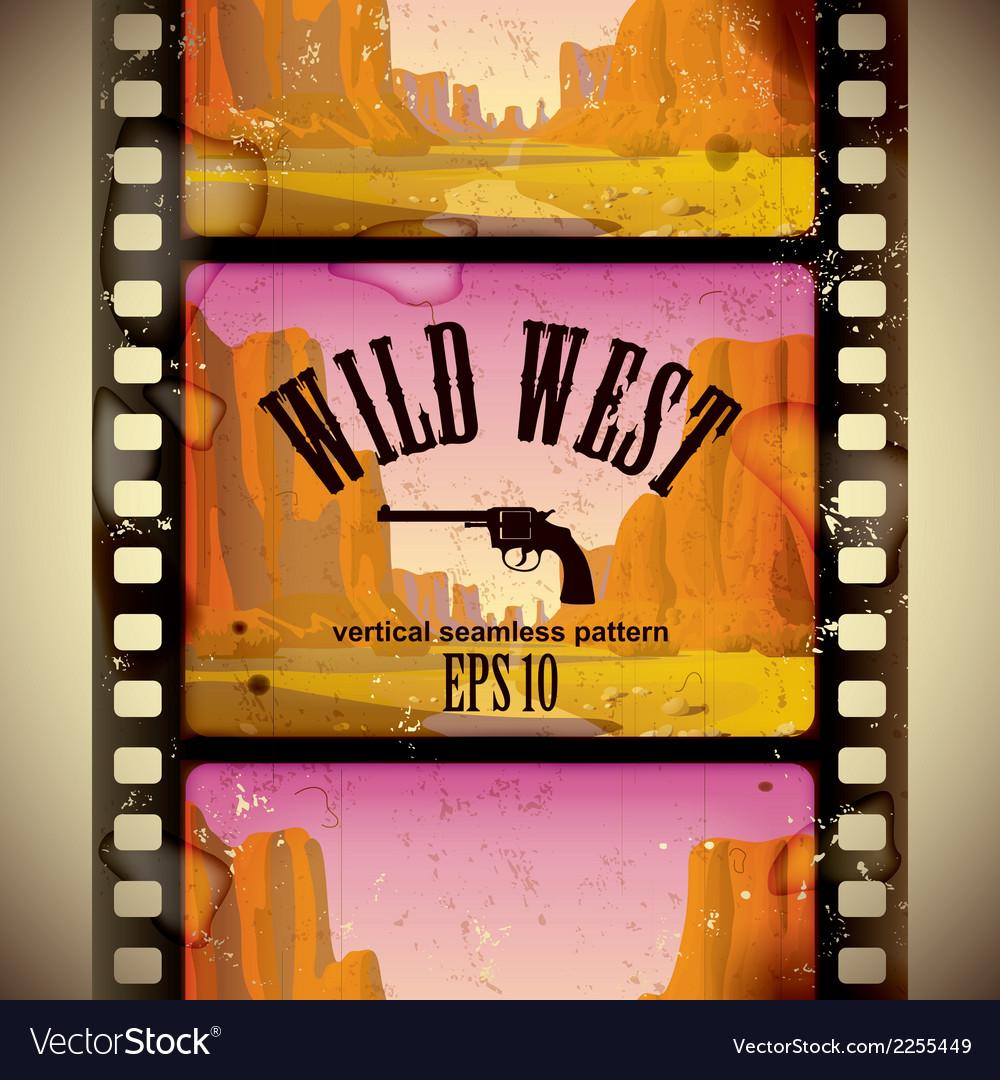 Western film strip