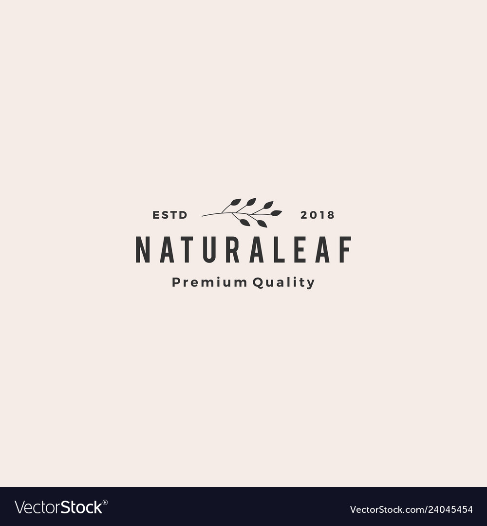 Leaf leaves wreath logo icon element