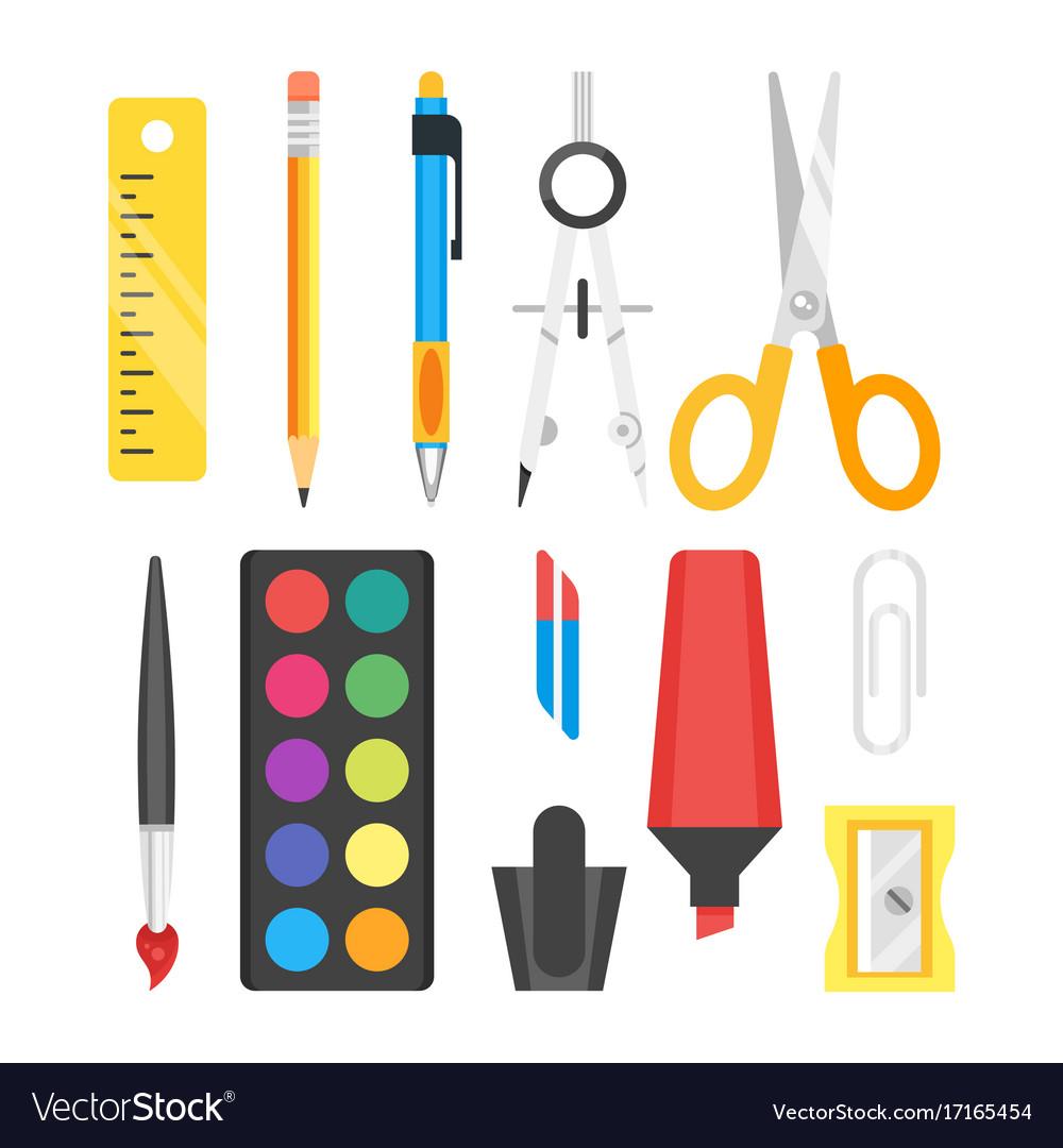 School set stationery