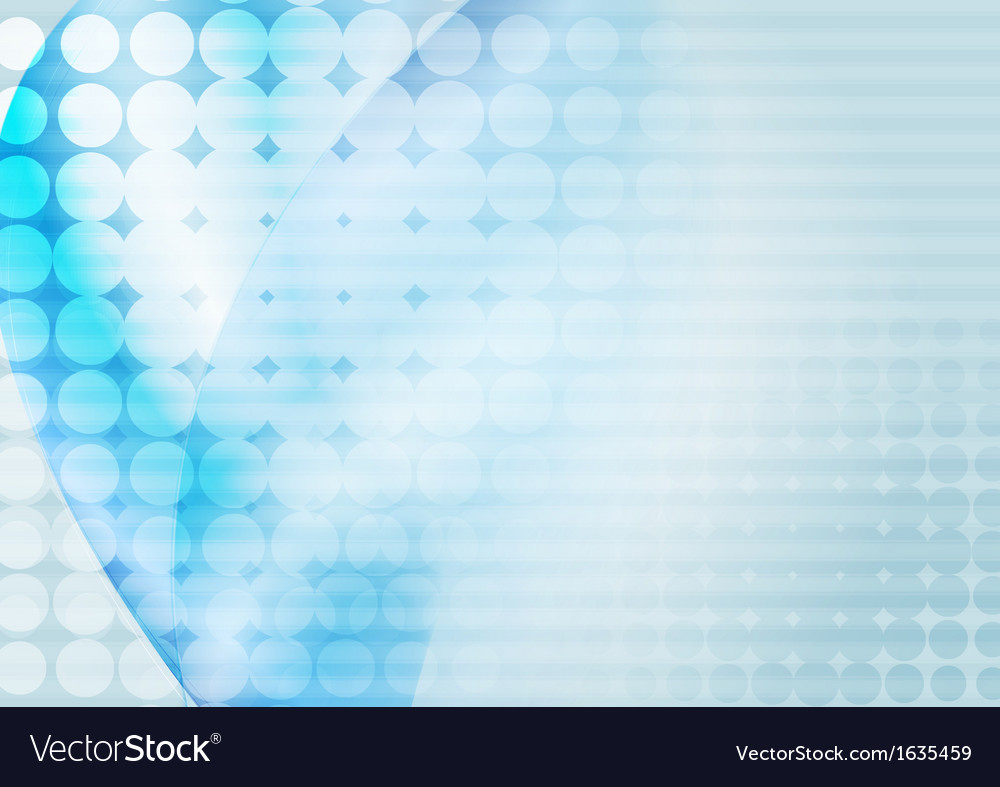 Bright blue abstract vector image