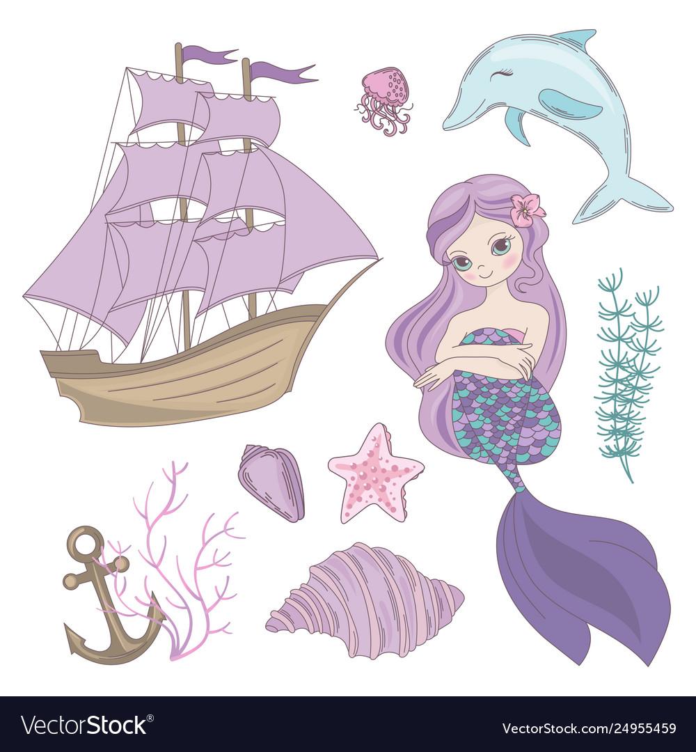 Siren mermaid sea ocean summer cruise