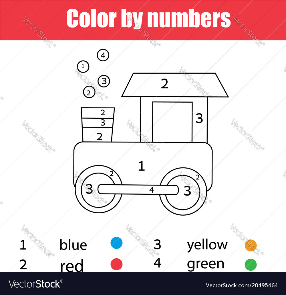Number Train Coloring Page Train Coloring Page Printables Apps for ...