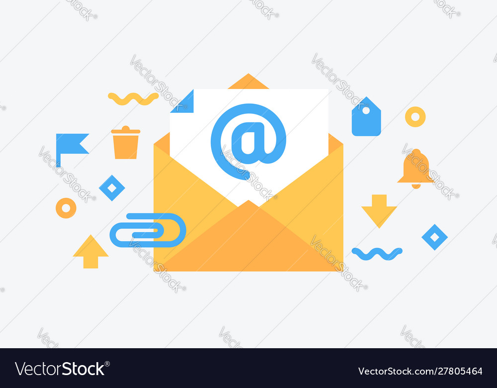 Email service flat