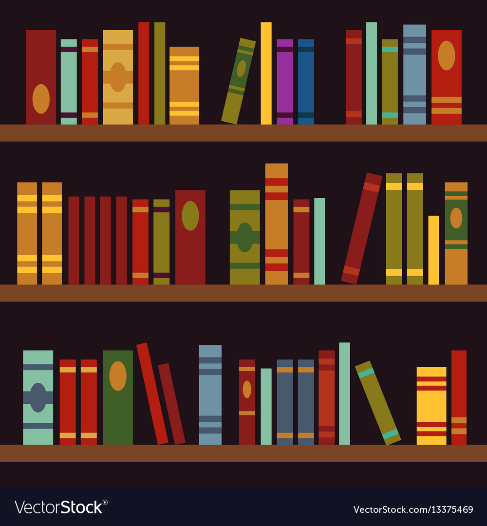 library book shelves book box royalty free vector image rh vectorstock com library bookshelves with ladder belfort library book shelving units