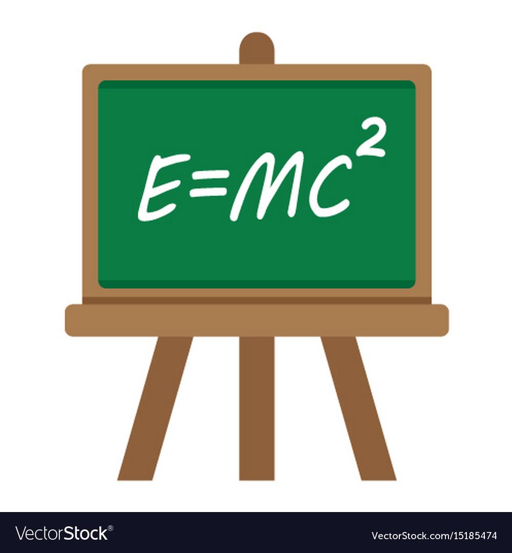 blackboard flat icon chalkboard and school vector image rh vectorstock com chalk vector free chalk vector