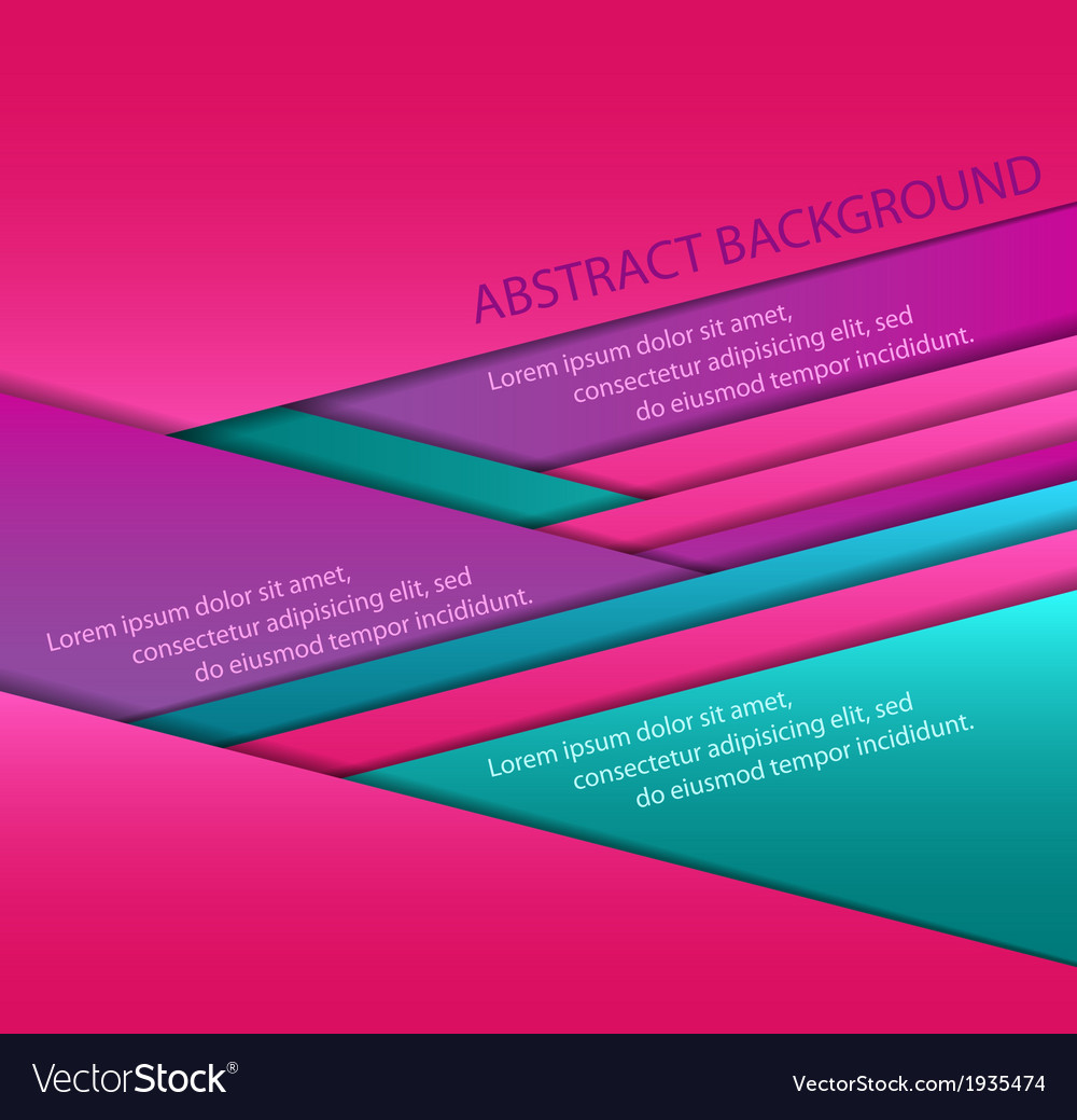 Colorful paper sheets Royalty Free Vector Image
