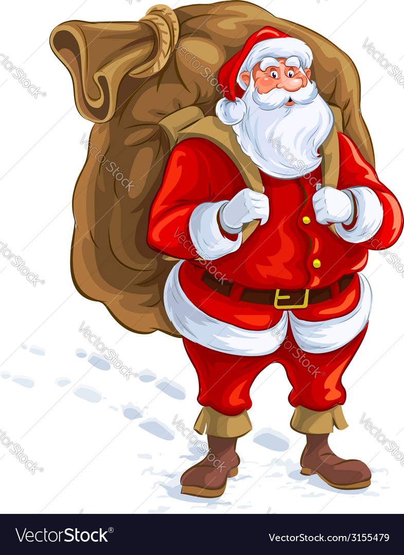 Santa/'s Big Sack Novelty Christmas Printed Mug