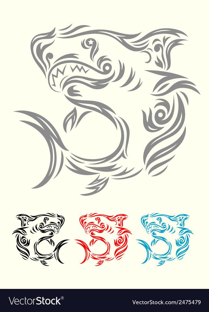 Shark ornamental
