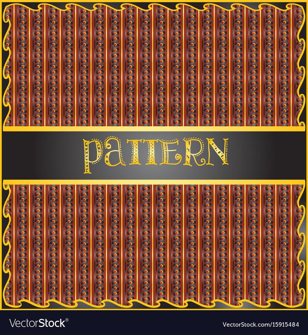 Decorative geometric colorful pattern
