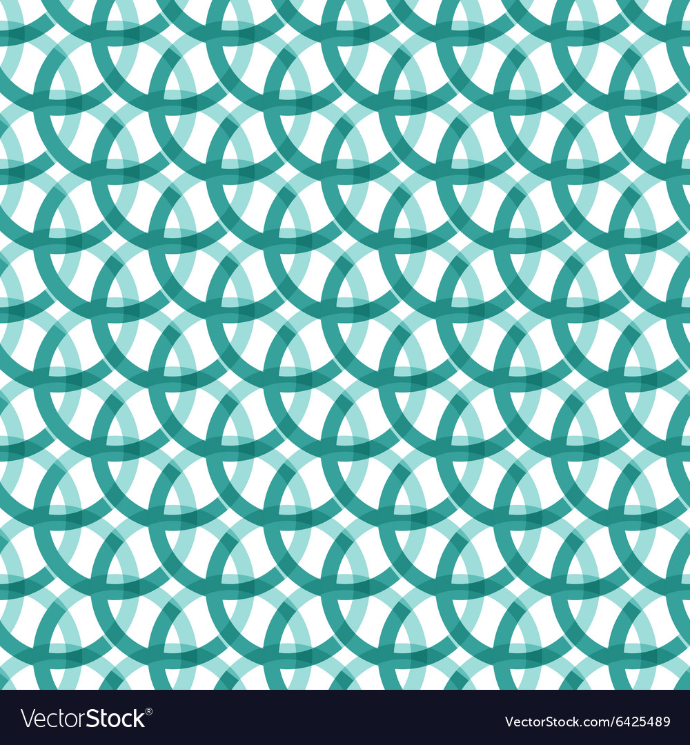 Abstract seamless circle pattern vector image
