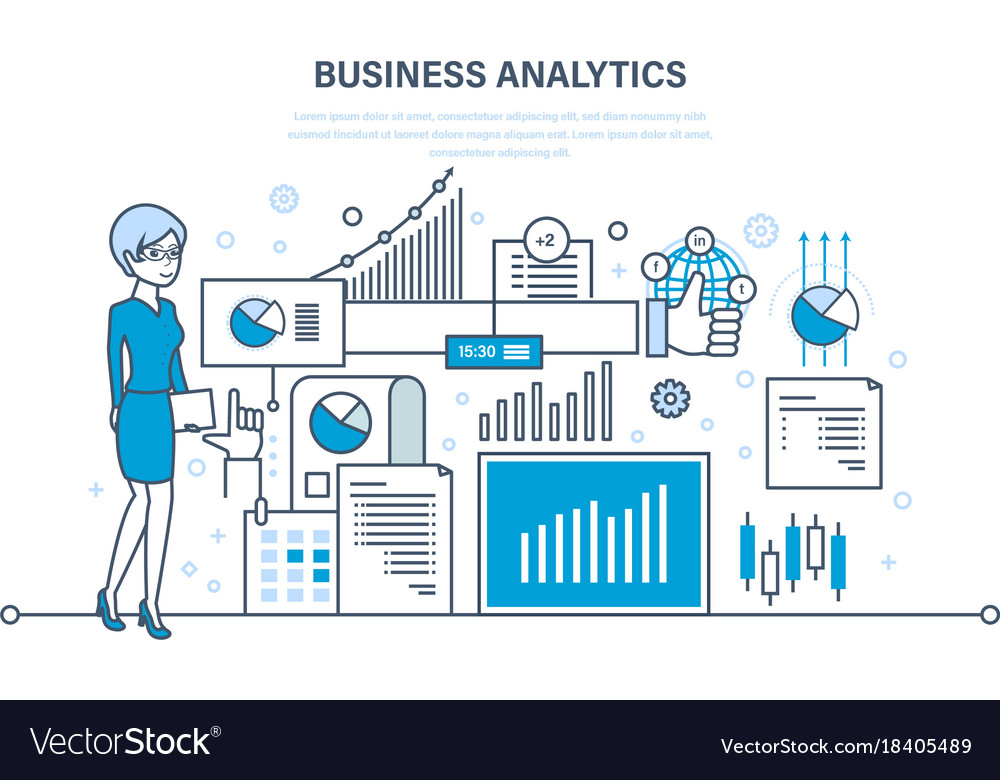 Business analytics data analysis statistic