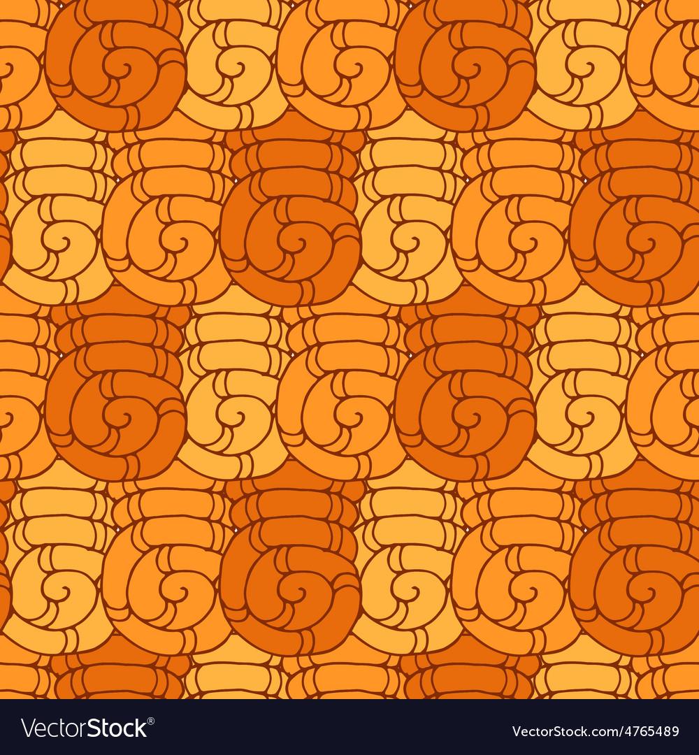 Seamless pattern swirl