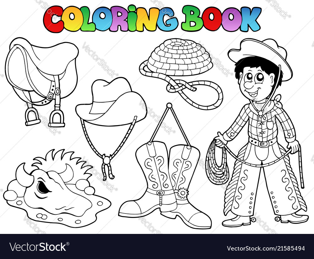 Coloring book country collection