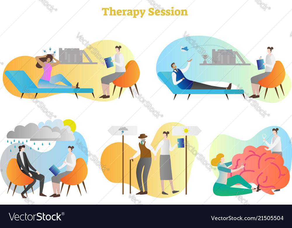 Therapy session collection set