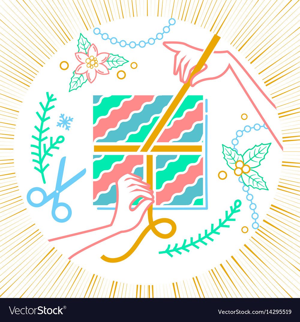 Arts and crafts hand vector image