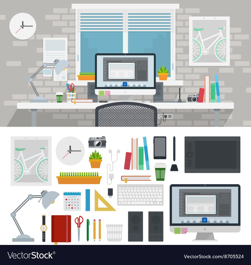 Designer cabinet full of different tools