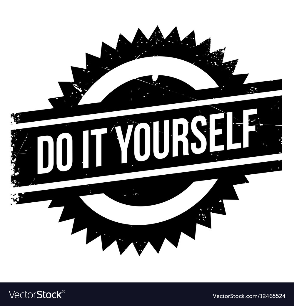 Do it yourself stamp royalty free vector image do it yourself stamp vector image solutioingenieria Choice Image