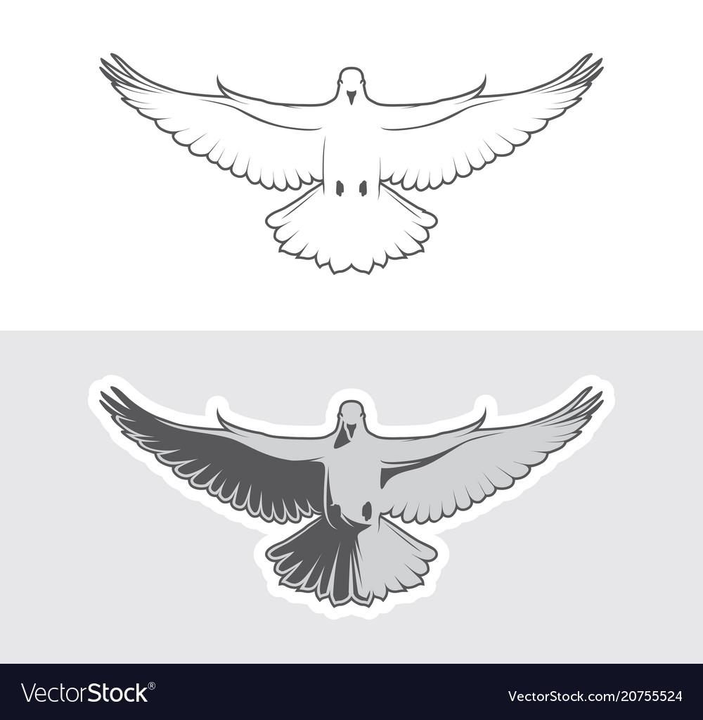 Dove birds logo