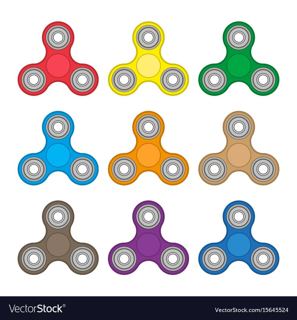 Hand spinner antistress toy fidget spinner